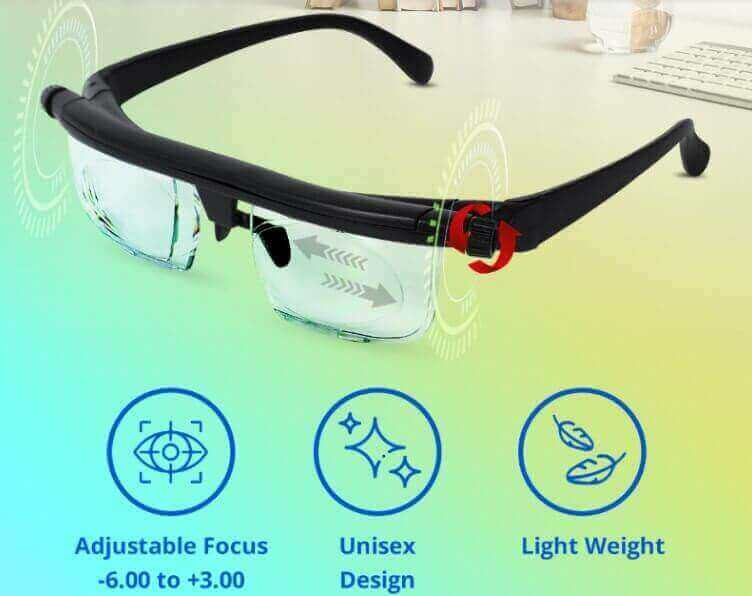 equalplus adjustable glasses review