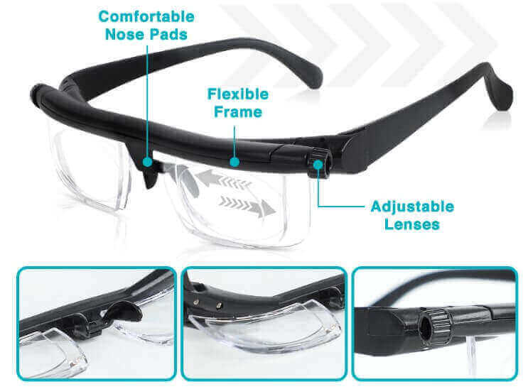 equal plus adjustable glasses